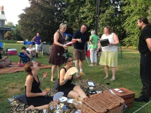 The winning picnic