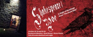 Shakespeare/Poe returns in 2015 with a twist