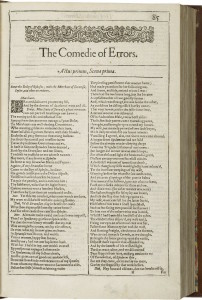 First-page-first-folio-comedy-of-errors