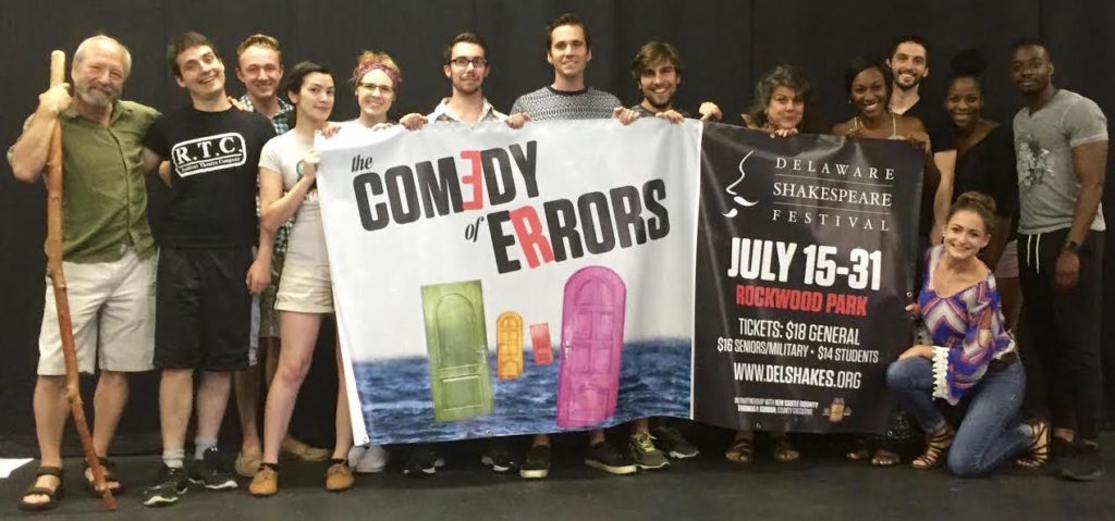 The cast of THE COMEDY OF ERRORS