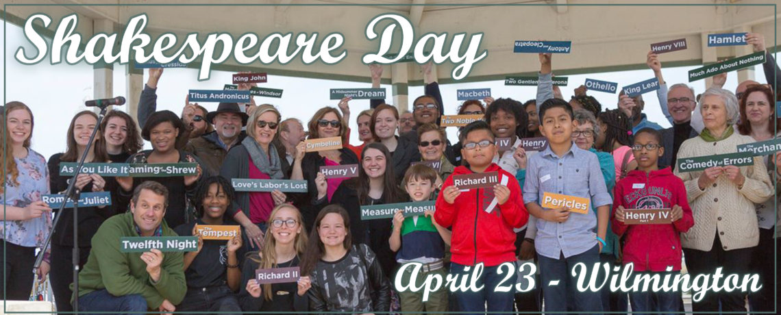 Shakespeare Day on Market Street