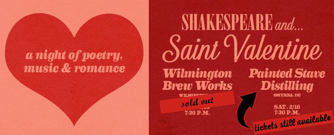 Shakespeare + St. Valentine