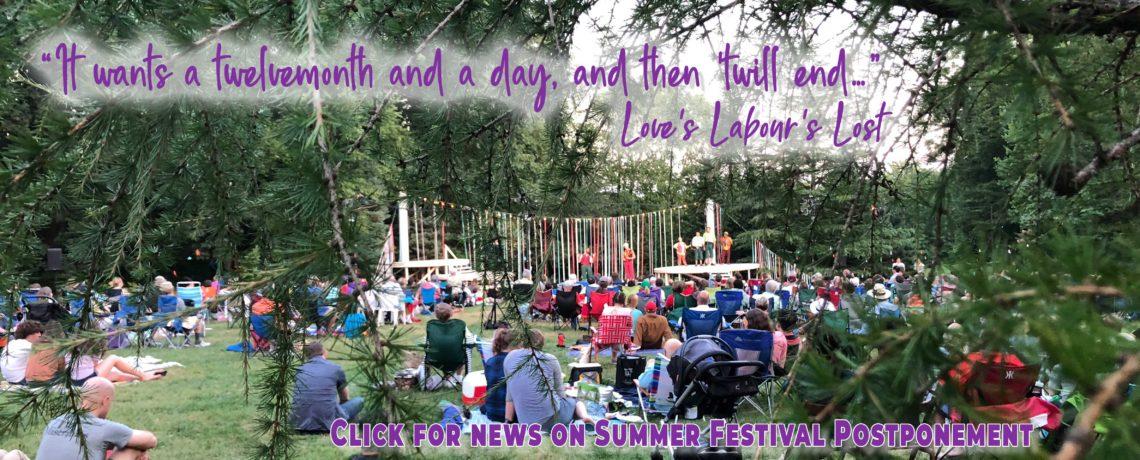 Summer Festival Postponement