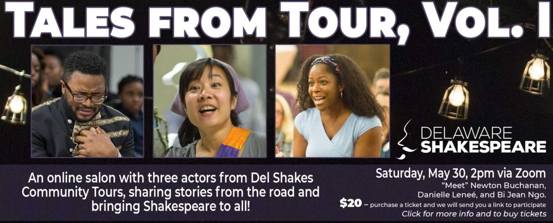 Online Salon: Tales from Tour, Vol. 1