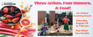 Three Artists, Four Humors & Food!